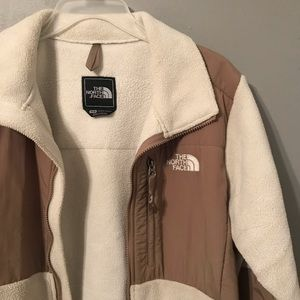 North face Jacket Cream and Tan